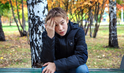 depresija decak tužan